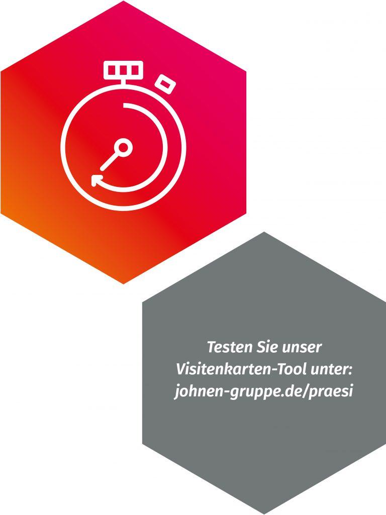Kunden Webshop Visitenkarten Tools Johnen Druck